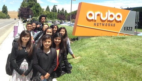 Aruba Networks Career Exploration Visit 1 2