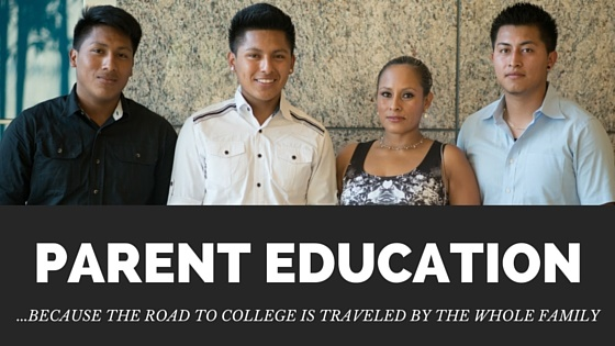 Parent Education Banner